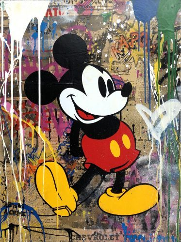 MR.BRAINWASH Mickey, 2018