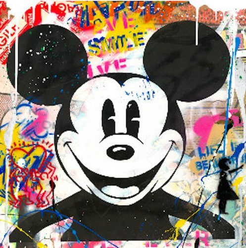 Mr. Brainwash Mickey, 2018