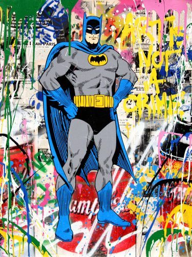 MR. BRAINWASH Batman, 2017