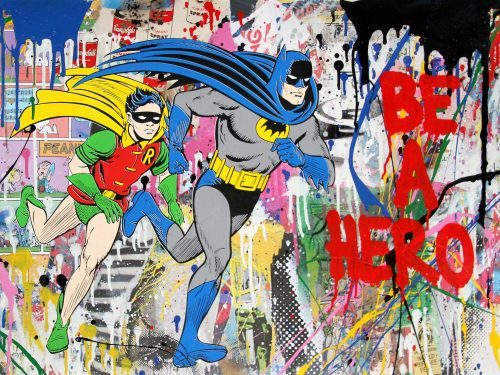 MR. BRAINWASH Batman & Robin