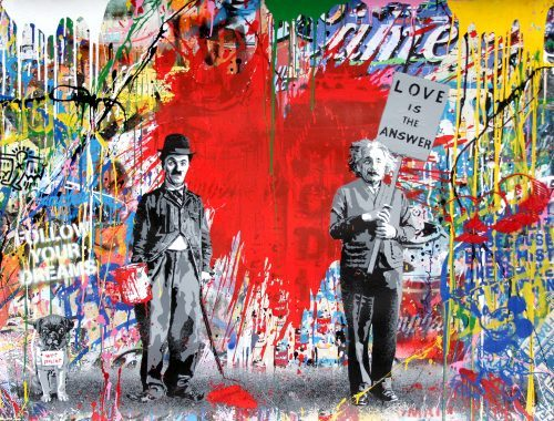 MR. BRAINWASH Juxtapose, 2018