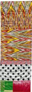 Robert_Rauschenberg_Samarkand_Stitches_VI_1988