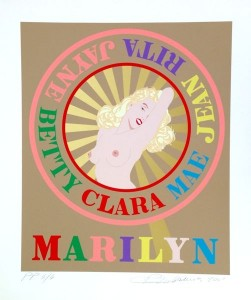 robert_indiana_Sunburst-Marilyn-2001