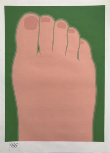 TOM WESSELMANN Foot (for Olympia), 1970