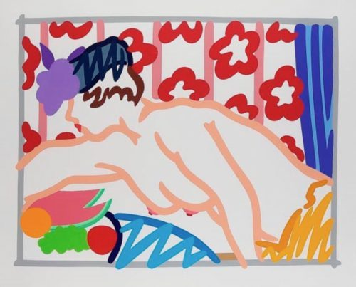 TOM_WESSELMANN_Judy_reaching_over_table_1997.