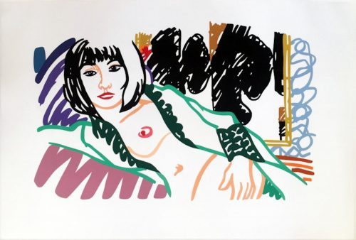 TOM_WESSELMANN_Monica_in_Robe_with_Motherwell_1994