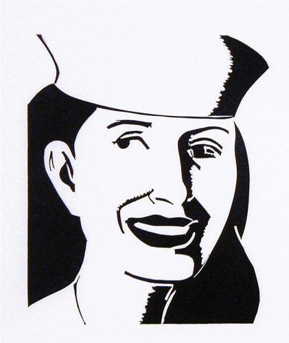 ALEX KATZ The Sailor Hat, 2003