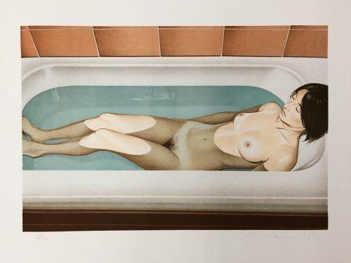 MEL RAMOS Bonnards Bath