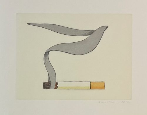Tom Wesselmann Smoking Cigarette
