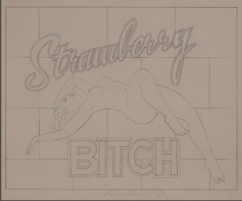 mel_ramos_Strawberry_Bitch