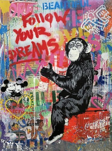 mr_brainwash_Everyday_Life_2020_127x 96.5_cm