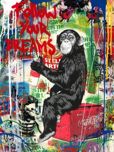 mr_brainwash_Everyday_Life_streetart_love_usa_mickey_maus_affe_Minnie_kids_dog_punk_einstein_artbasel_nueremberg_sale_gallery_losangeles_street_munich_alex_katz_andywarhol_tomwesselmann_grafiti_dose_campbells_soup_new_roylichtenstein_studio_art_artist_newyork