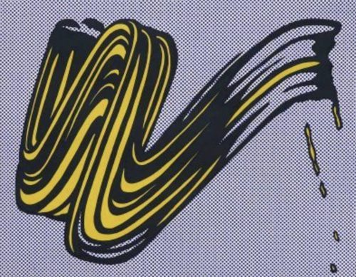 roy_lichtenstein_Brushstroke