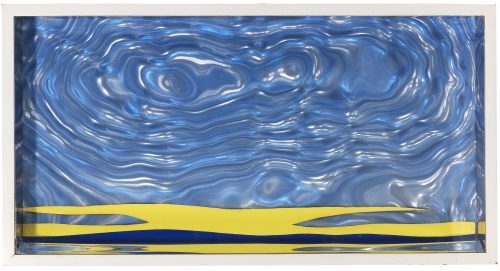 ROY_LICHTENSTEIN_Seascape_II_1965_new_schmuck_art_popart_yellow_artnet_artsy_gallery_art-moma_newyork_diamond_alex_katz_brexit_museumludwig_mickeymaus_beautiful_present_love_water_sea_new_moon_galeriebingold_galeriefrankfluegel_blue_blau_wasser