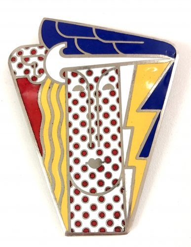 ROY_LICHTENSTEIN_Modern_Head_Brooch_1968_new_schmuck_art_popart_yellow_artnet_artsy_gallery_art-moma_newyork_diamond_alex_katz_brexit_museumludwig_mickeymaus_beautiful_present_love