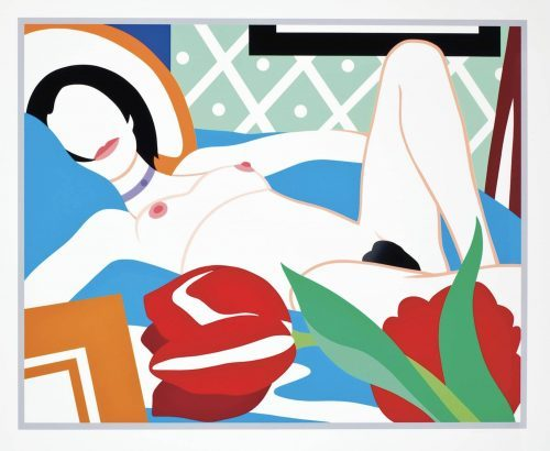 tom_wesselmann_monica_with_tulip