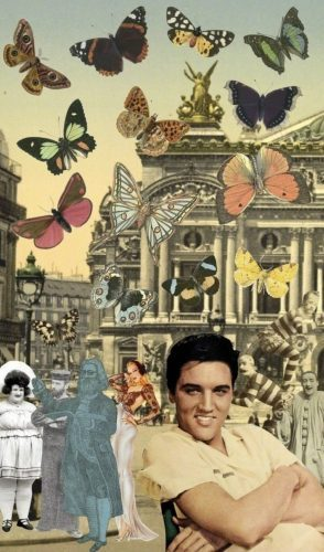 PETER_BLAKE_Elvis_in_Paris