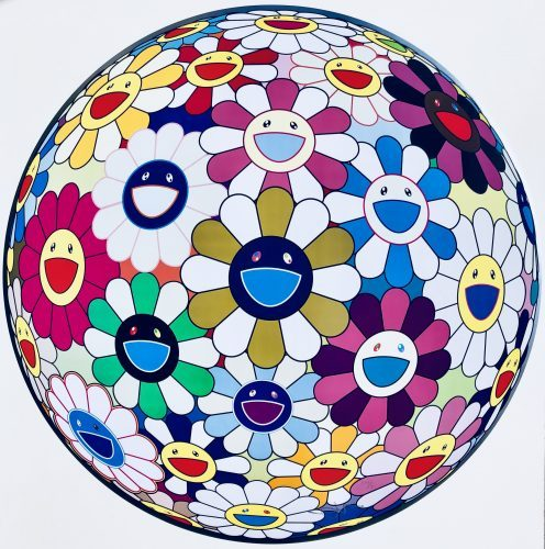 TAKASHI MURAKAMI Flower Ball (3D)