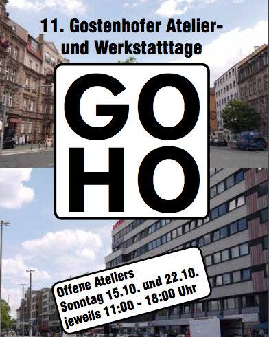 Flyer 11. Gostenhofer Atelier- und Werkstatttage