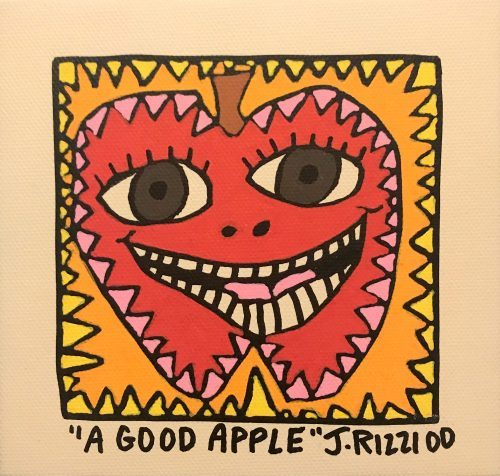 JAMES RIZZI A GOOD APPLE, 2000