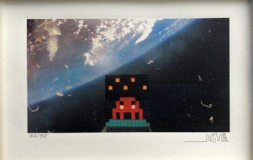 INVADER 3D ART 4 SPACE 2013