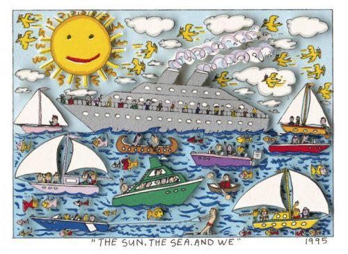 JAMES RIZZI THE SUN, THE SEA AND WE, 1995