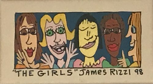 JAMES RIZZI THE GIRLS, 1998