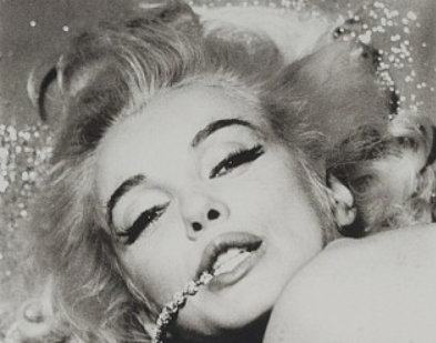 BERT STERN Marilyn with Jewels, 1962