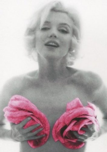 BERT STERN Marilyn with Pink Roses, 1962