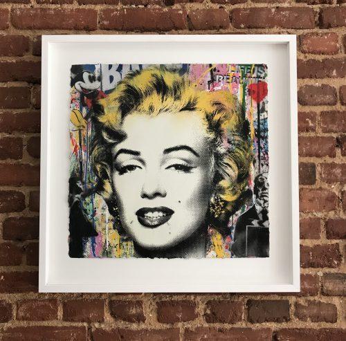 Mr. Brainwash Marilyn Monroe,2017