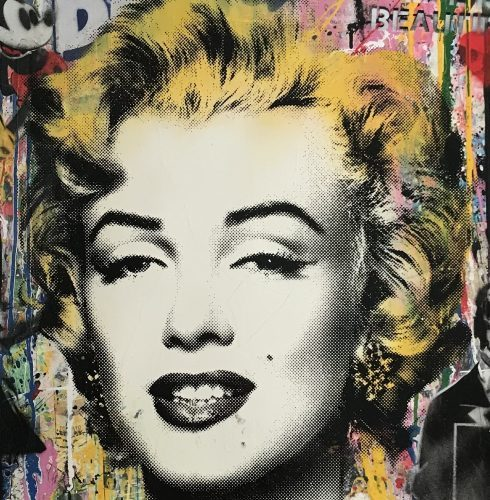 MR. BRAINWASH Marilyn Monroe, 2017