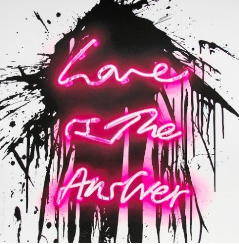 MR. BRAINWASH Love On, 2018