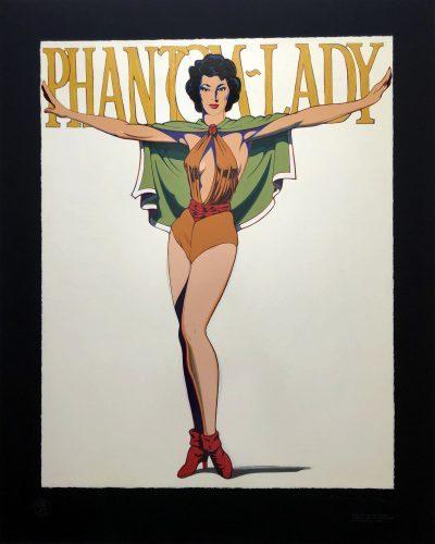 MEL_RAMOS_Phantom_Lady_Black_1990