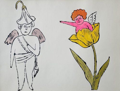 In the Bottom of my Garden (WVZ. IV 101), ca. 1956